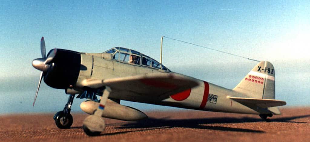 A6M2 Zero Tamiya 1/48 A6M2_1