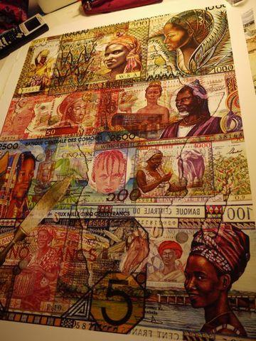 billetes africanos Col5
