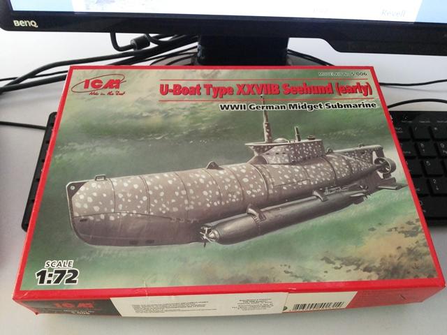 U-boat Type XXVII B Seehund - ICM 1/72 SEE_01