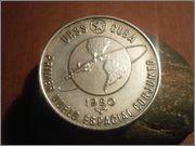 5 pesos 1980 Cuba 1º  vuelo espacial conjunto urss /cuba P3130828