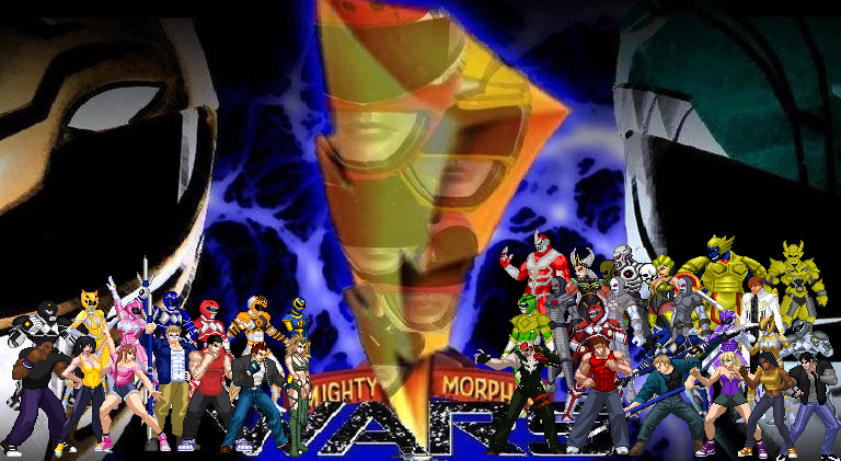 wars - Mighty Morphin Wars:The Game(Rated M) openbor project Mightysupapowerrangers