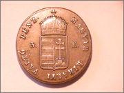 Harom(3) Krajczar 1849 NB Hungria PIC_0356