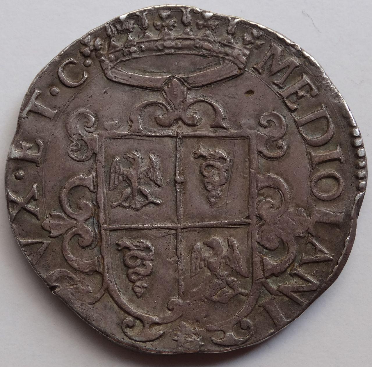 Ducatón de 1622. Felipe IV. Milán DSC03577