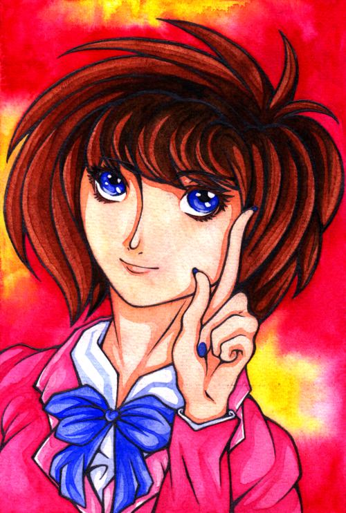Hình vẽ Anzu Mazaki bộ YugiOh (vua trò chơi) 1_Anzup_35