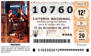 LOTERIA NAVIDAD BTTCARTAGENA 2013 Loteria