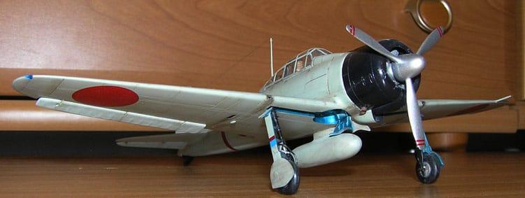 A6M2 Zero Tamiya 1/48 A6M2_3