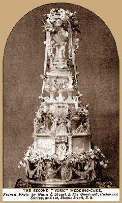 Dish of the Day - II - Page 3 Prince-_George-and-_Princess-_May-wedding-cake-2