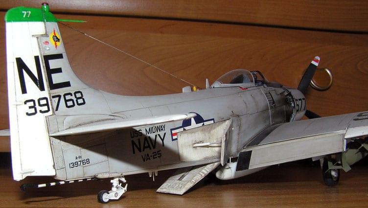 Skyraider A-1H Tamiya 1/48 A1_4