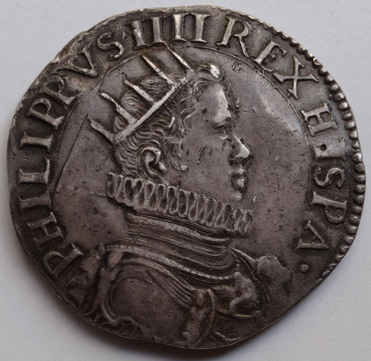 Ducatón de 1622. Felipe IV. Milán DSC03579
