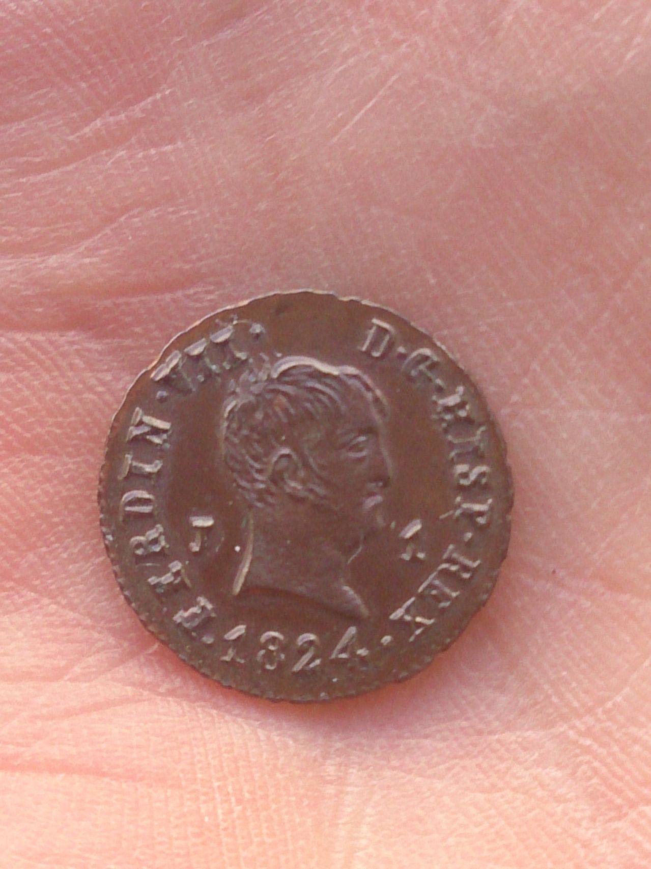 1 MARAVEDI 1834 FERNANDO VII - SEGOVIA DSC_0470