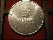 20 forint Hungria  1948  Mihály Táncsics (dedicada al dueño del Dodo y a Caminoalto) PA270407