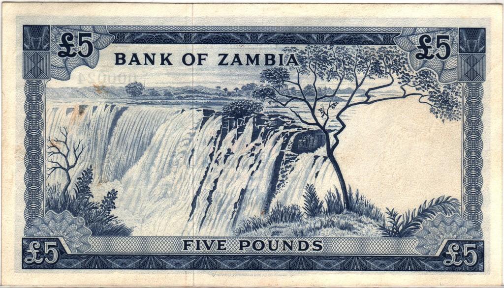 5 Libras Zambia, 1964 (dedicado a RC-menos) Zambia_P3b