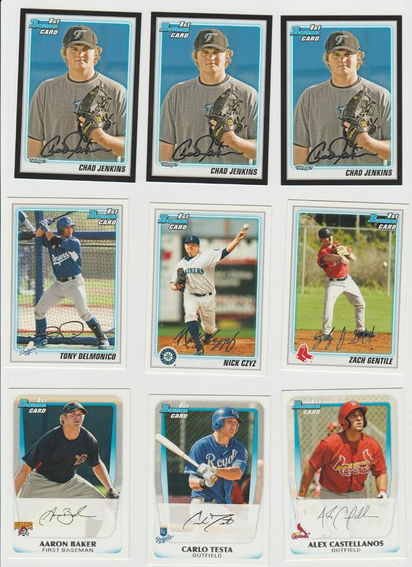 BB Cards F/S .10 cents Each (NEW LIST) Scanned Adding More 080