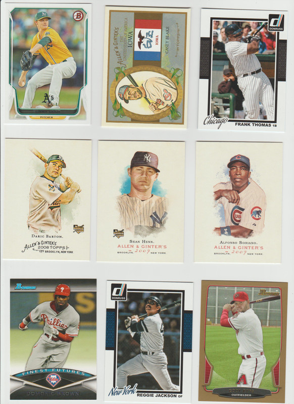 BB Cards F/S .10 cents Each (NEW LIST) Scanned Adding More 055
