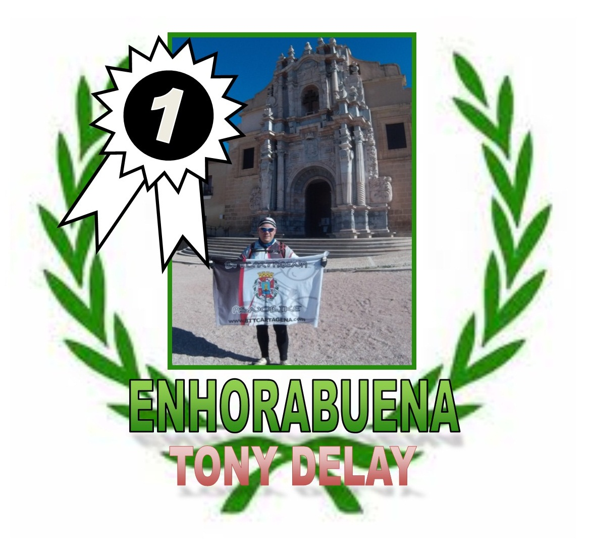 HUELLA del ASNO .... RETURNED in 2015 - Página 2 Felicitaci_n_Tony_Delay