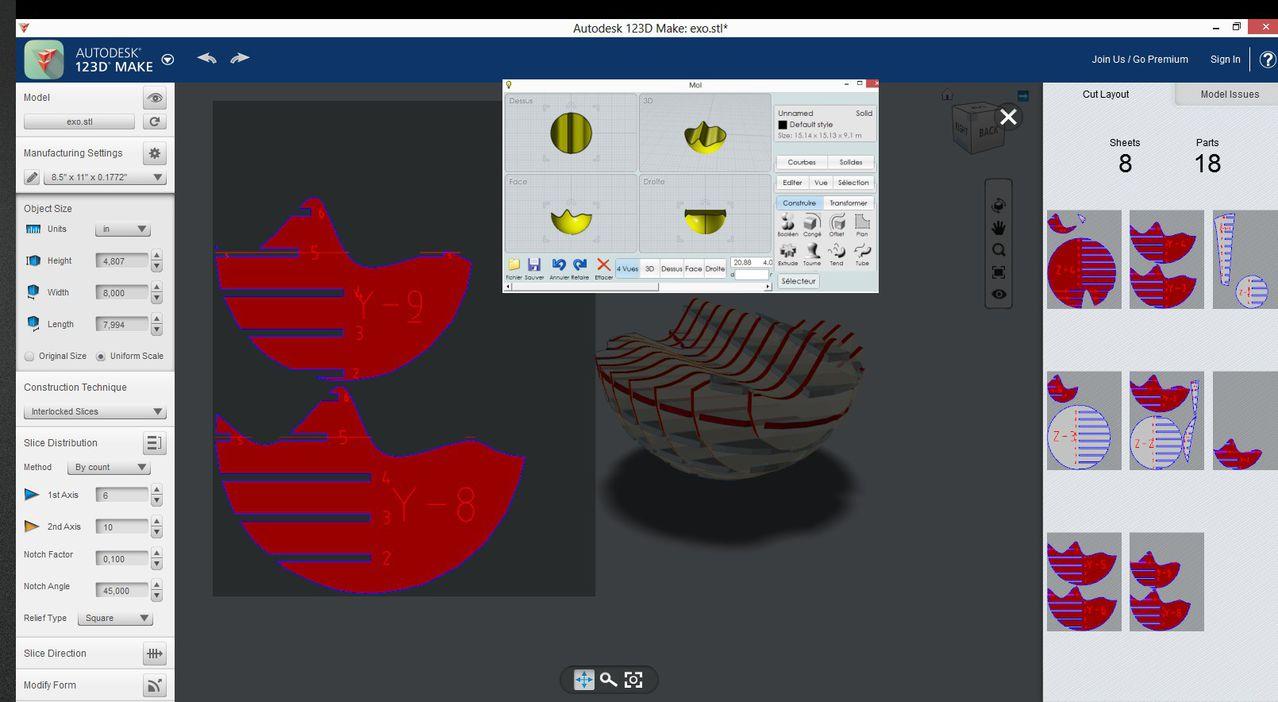 Autodesk 123D Exo