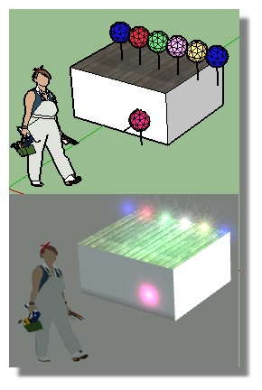 Sketchup texture - Page 2 Bougies