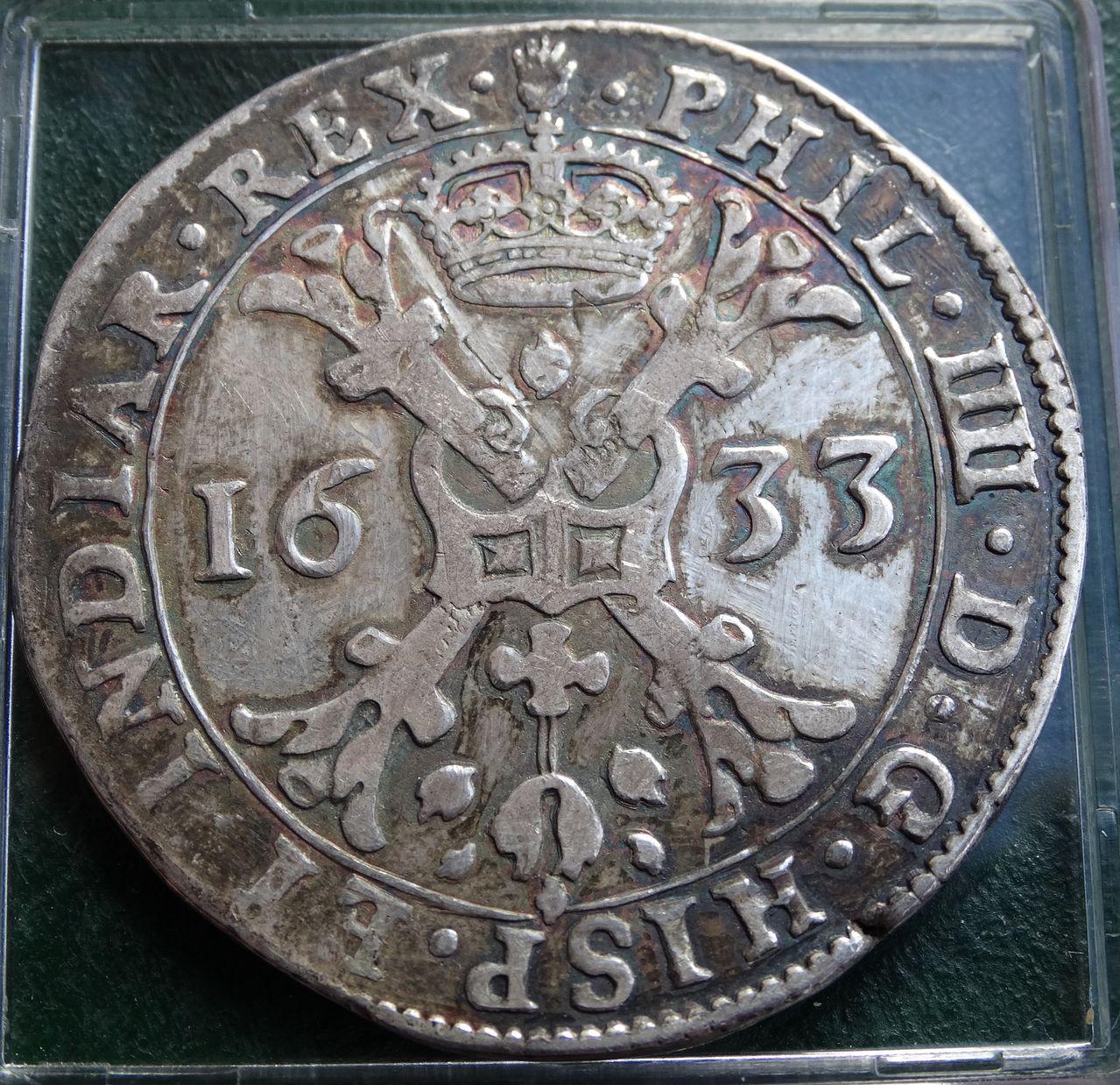 Patagón de Felipe IV, Amberes (1633). DSC01912