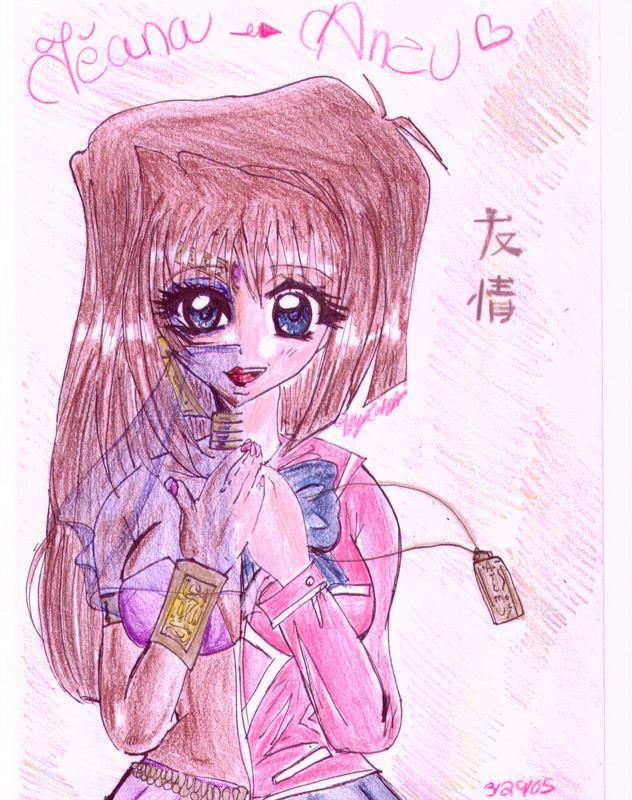 Hình vẽ Anzu Mazaki bộ YugiOh (vua trò chơi) 1_Anzup_33