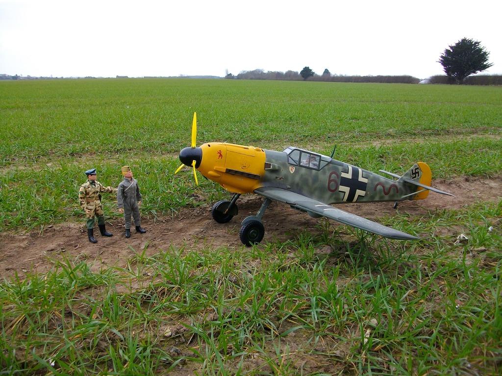 German DAK ME109 fighter pilot . IMGP1201_zps7imx1irn