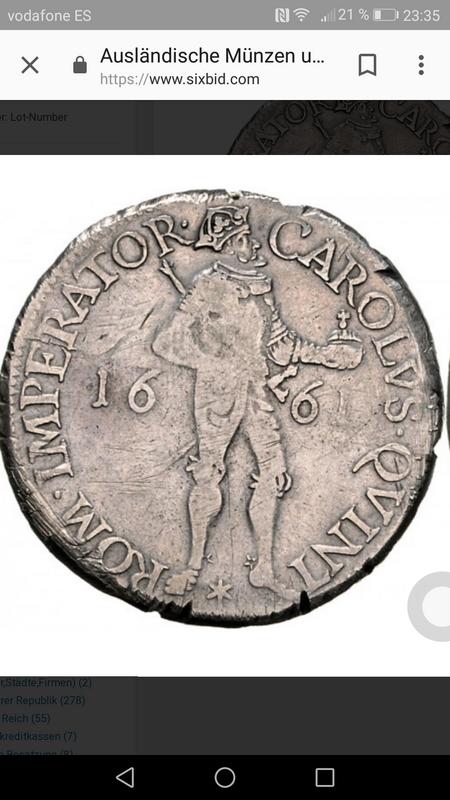 Thaler Besancon 1661 imagen Carlos V Screenshot_20180428-233528