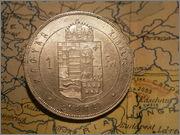 1 Forint 1879  Francisco Jose I Hungria  P2130599