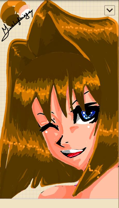 Hình vẽ Anzu Mazaki bộ YugiOh (vua trò chơi) - Page 3 1_Anzup_140
