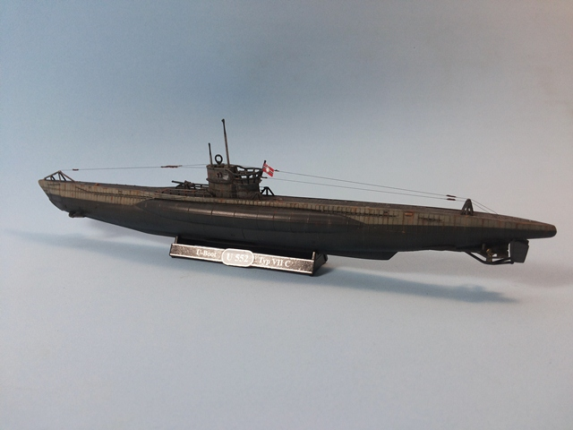 U-Boat Type VII C - Revell 1/350 U_Boat_37