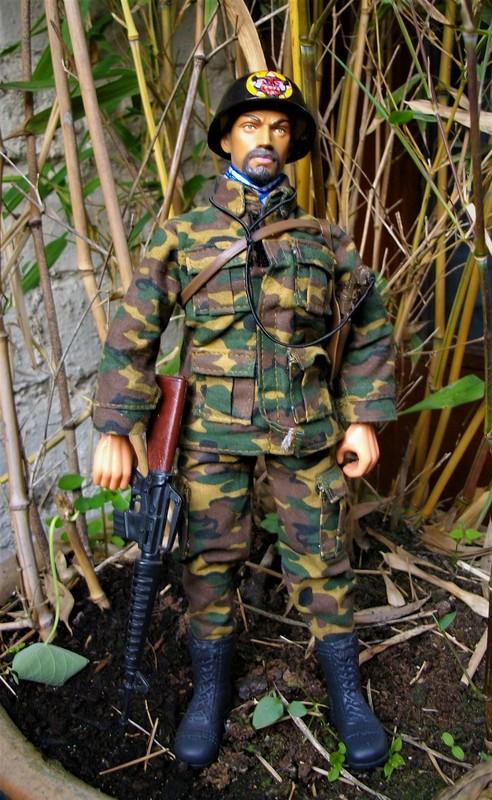 Vietnam ARVN (BietDong Quan) Black Cat Ranger Kitbash IMGP6698
