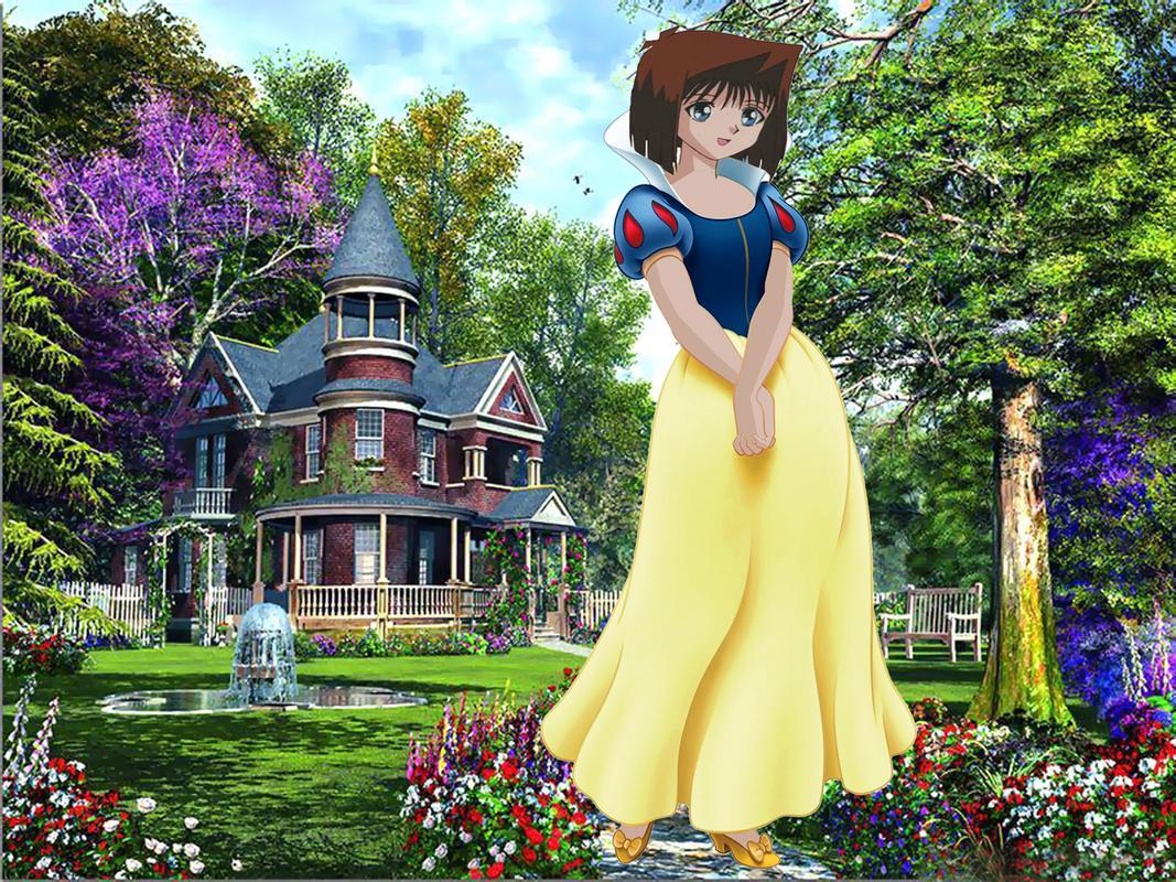 Hình Anzu Mazaki hóa trang thành truyện cổ tích Ahc
