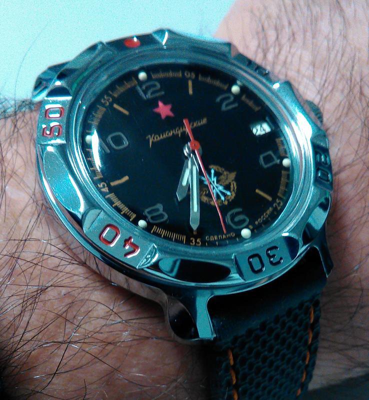 Relógios de mergulho vintage - Página 2 Komandirski