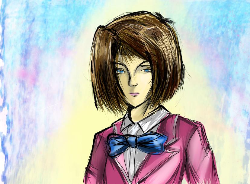 Hình vẽ Anzu Mazaki bộ YugiOh (vua trò chơi) 1_Anzup_19