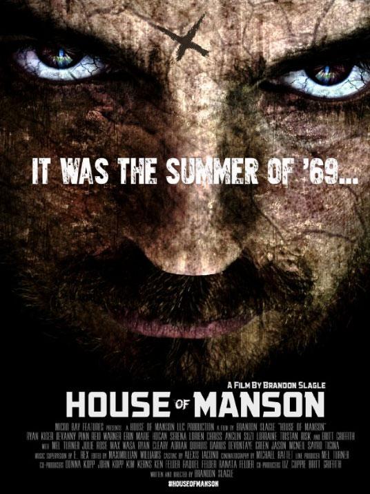 حصرياً فيلم الجريمة المُثير House of Manson 2014 مترجم بجودة HDRip تحميل مباشر House_of_Manson_poster