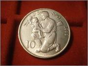 10 koronas 1955 10º aniversario  liberacion de Alemania PB060532