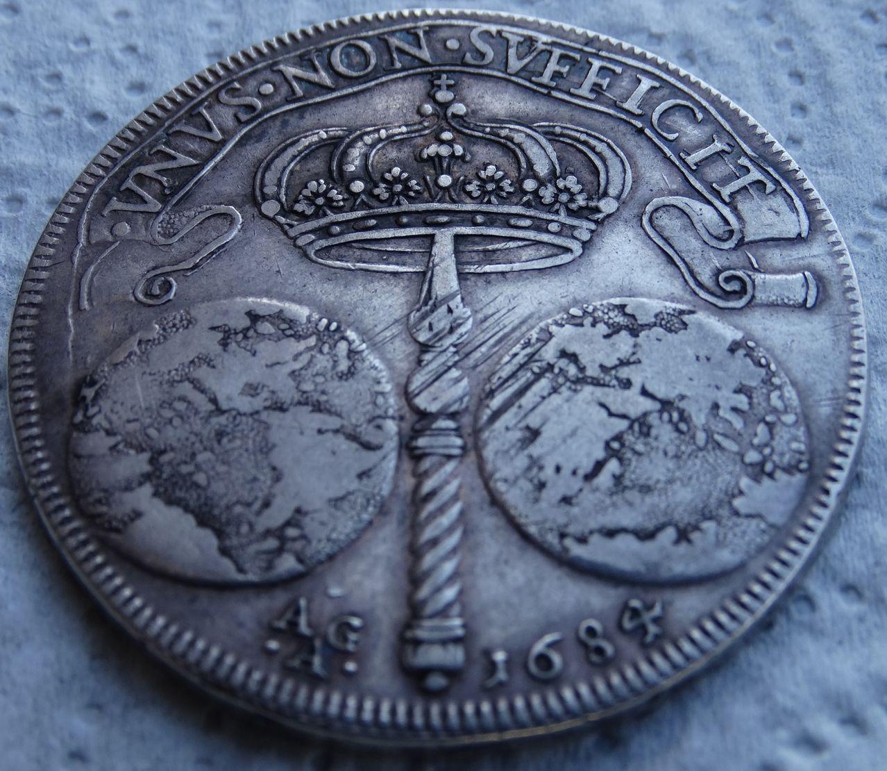 Ducado de 1684, Carlos II  ceca de Nápoles DSC04946