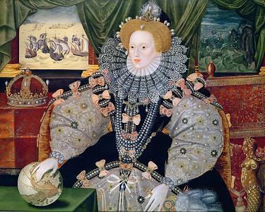 Crowns - assorted thoughts on. Elizabeth_I_Armada_Portrait
