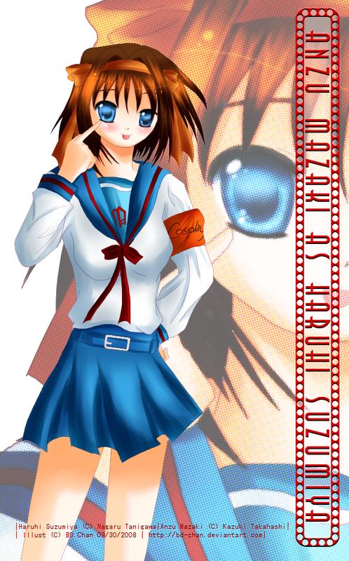 Hình vẽ Anzu Mazaki bộ YugiOh (vua trò chơi) 1_Anzup_8
