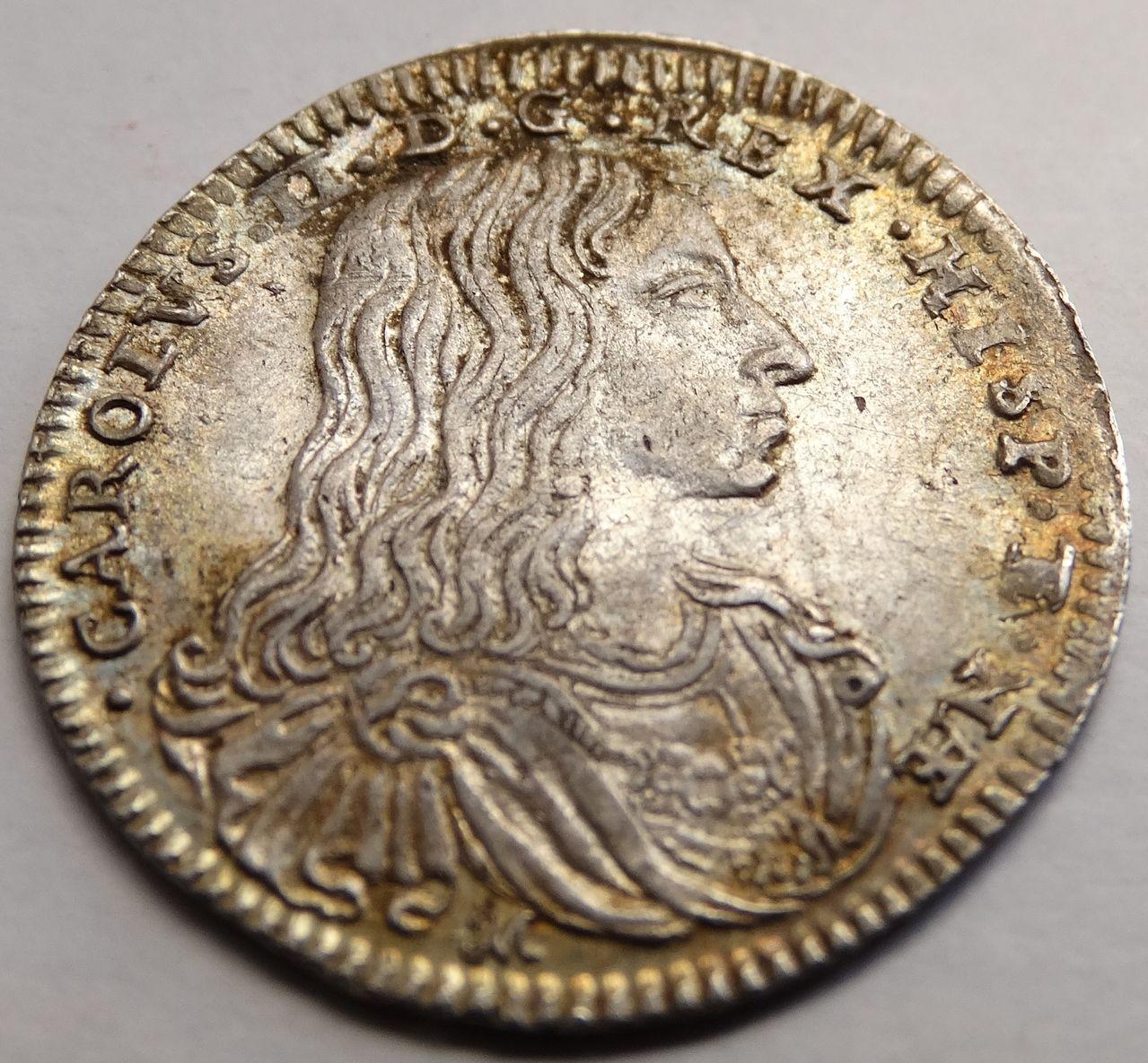 1 carlino de 1685. Carlos II, Nápoles DSC03292