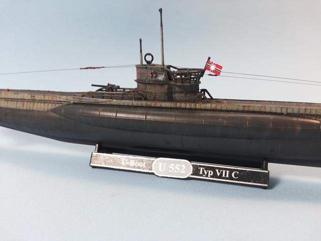 U-Boat Type VII C - Revell 1/350 U_Boat_38