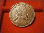 Etiopia 1/100 Birr - Menelik II 1897 PB080546