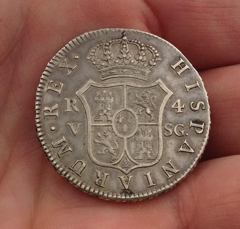 4 reales 1810. Fernando VII. Valencia IMG_0543