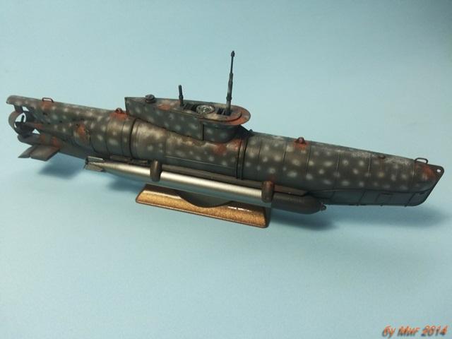 U-boat Type XXVII B Seehund - ICM 1/72 SEE_49