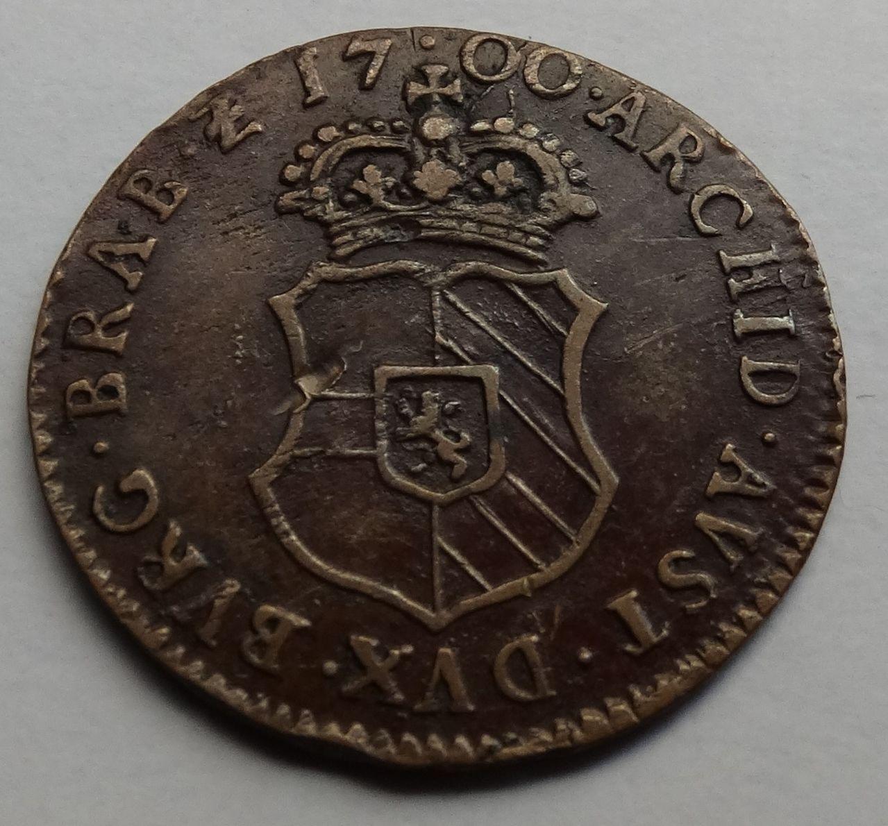 Gigot de 1700. Carlos II, Amberes. DSC02406