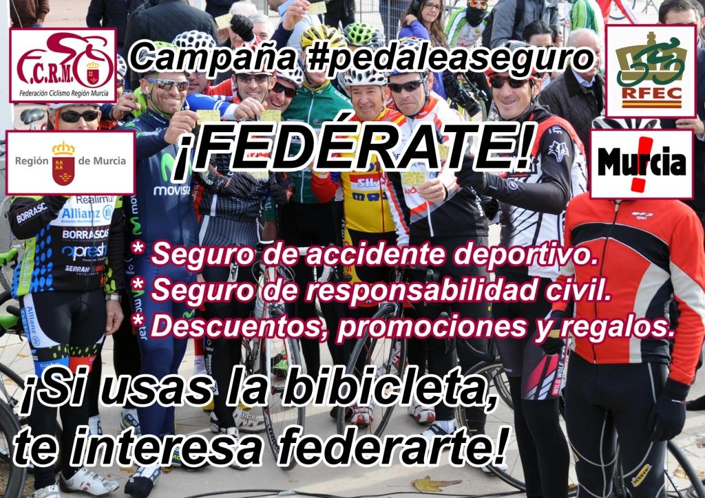 ¡¡¡ PORQUÉ ME FEDERO !!! Campana_Pedalea