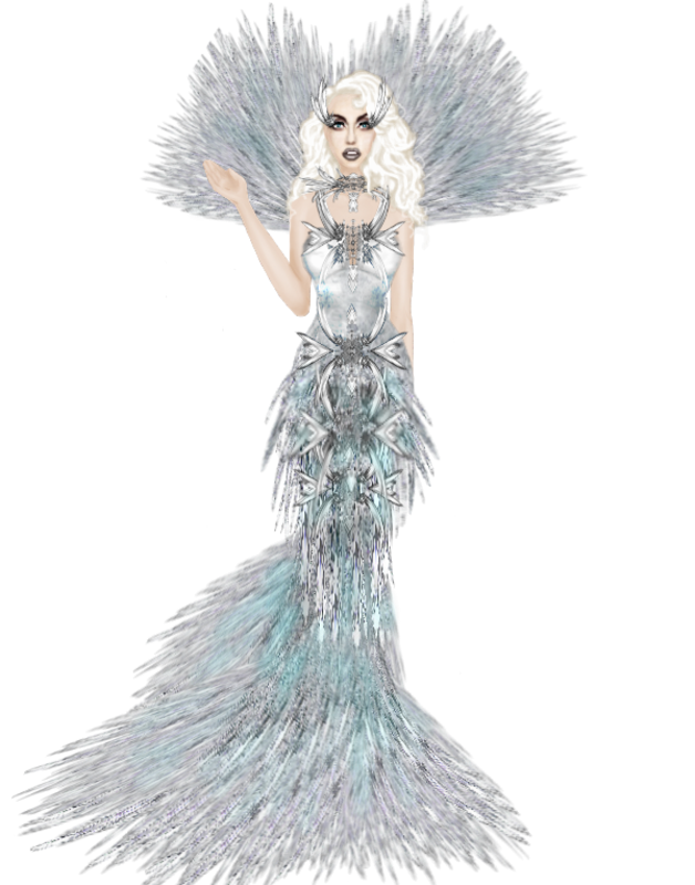 Challenge #6 DS for Diamonds Lady Gaga inspired dress Lady_Gaga_Diamiond_inspired_dress_challenge_png