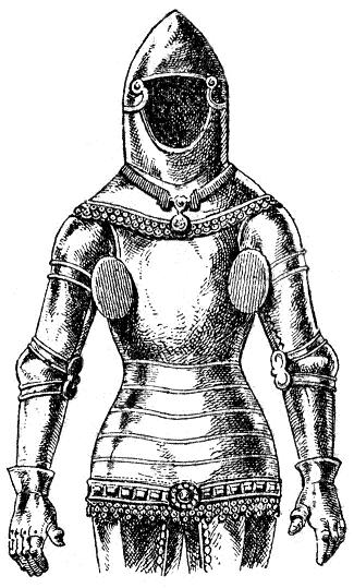 Dressed to Kill: Fashion, Arms and Armour Medieval-armor-1