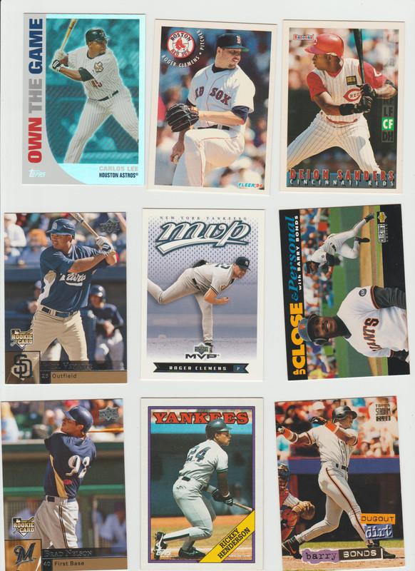 BB Cards F/S .10 cents Each (NEW LIST) Scanned Adding More 090