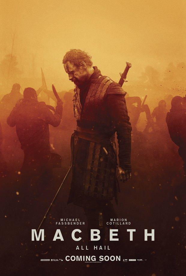 النسخة الـ 480p & 720p BluRay لفيلم الأكشن والحروب Macbeth 2015 Macbeth_poster_michael_fassbender