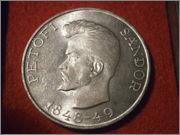 Hungría - 5 forint Hungria 1948 Sandor Petofi P9160185