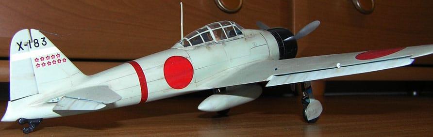 A6M2 Zero Tamiya 1/48 A6M2_2